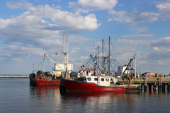 Red Boats Royalty Free Stock Image