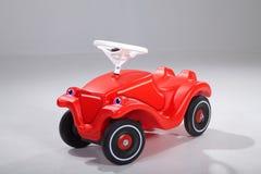 Red bobby car Stock Photos