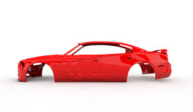 Red body car Royalty Free Stock Images