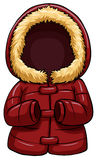 Red body warmer Stock Photos