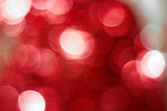 Red bokeh Stock Photo