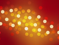 Red bokeh. Red and yellow bokeh, light Royalty Free Stock Photo