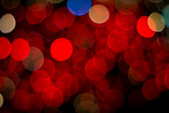 Red bokeh Royalty Free Stock Photography