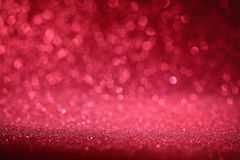 Red bokeh abstract background Royalty Free Stock Images