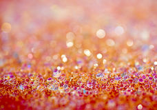 Red bokeh abstract background Royalty Free Stock Photos
