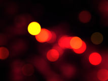 Red Bokeh Royalty Free Stock Images