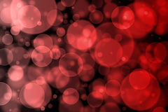 Red bokeh abstract light background Royalty Free Stock Images