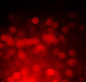 Red bokeh as background Royalty Free Stock Images
