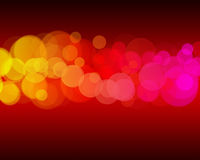 Red bokeh background Stock Photos