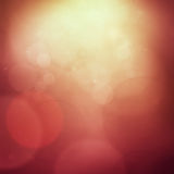 Red bokeh background Royalty Free Stock Photo