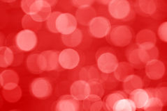 Red Bokeh Background Stock Images
