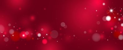Red bokeh background design vector illustration stock image