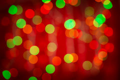Red bokeh background Royalty Free Stock Images