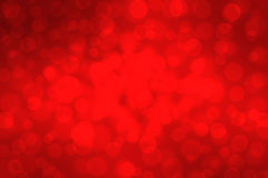 Red bokeh on a dark background Christmas. Abstract stock illustration
