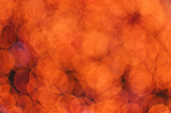Red bokeh festive christmas background Royalty Free Stock Images