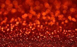 Red Bokeh Glitter Background royalty free stock photography