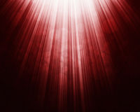 Red bokeh light background Royalty Free Stock Photo