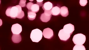 Red bokeh lights Royalty Free Stock Photos
