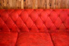 Red bolster. Stock Image