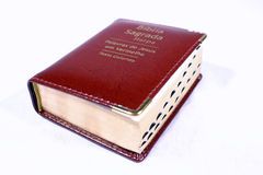 Red book. Of prayer with white background Royalty Free Stock Photo