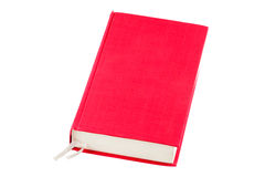 Red book. The red book isolated on a white background Stock Image