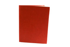 Red book. Isolated on white Stock Image