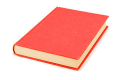 The red book. On white a background Stock Photos