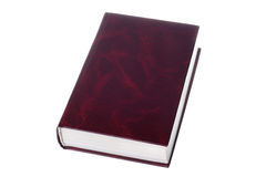 Red book. Isolated on white background Stock Photo