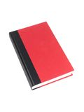 Red Book. A red book isolated against a white background Royalty Free Stock Photography