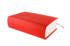 Red book. Isolated on a white background Royalty Free Stock Image