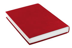Red book. Isolated on white Stock Photo