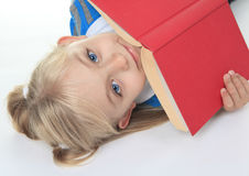 Red Book  child Royalty Free Stock Photos