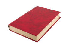 Red book close up. The red book isolated on a white background Stock Photography
