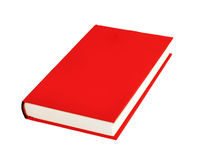 Red book isolated. On white Royalty Free Stock Image
