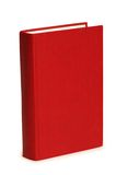 Red book isolated. On the white background Stock Image