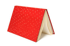 Red book - isolated Stock Photography