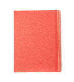 Red book isolated. Over the white background Stock Photos