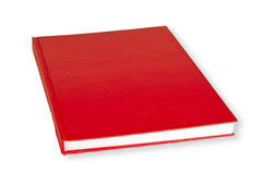 Red Book. Isolated on white background Stock Photography