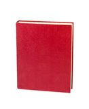 Red book. Isolated on white background Royalty Free Stock Images