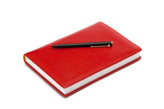 Red book organizer Royalty Free Stock Photos