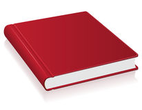 Red book vector illustration Stock Photo