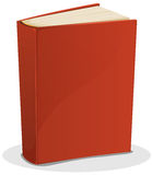 Red Book  On White Stock Image