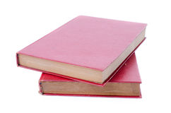 Red book on white background Royalty Free Stock Photography