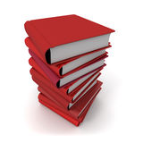 Red books Stock Photos