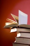 The Red Books Royalty Free Stock Photos