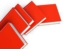 Red books Stock Images