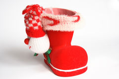 Red Boot Royalty Free Stock Image