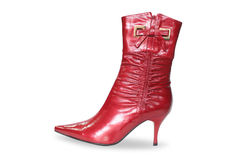 Red boot Royalty Free Stock Photos