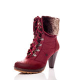 Red boots Royalty Free Stock Image