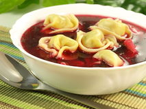 Red borsch Stock Image